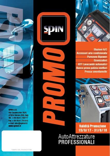 ricarica aria condizionata SPIN promo