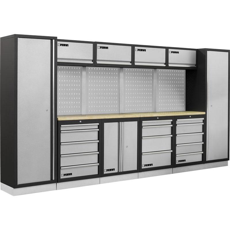 Fervi a007a arredamento modulare officine tecnopuglia for Piani di garage rv con officina