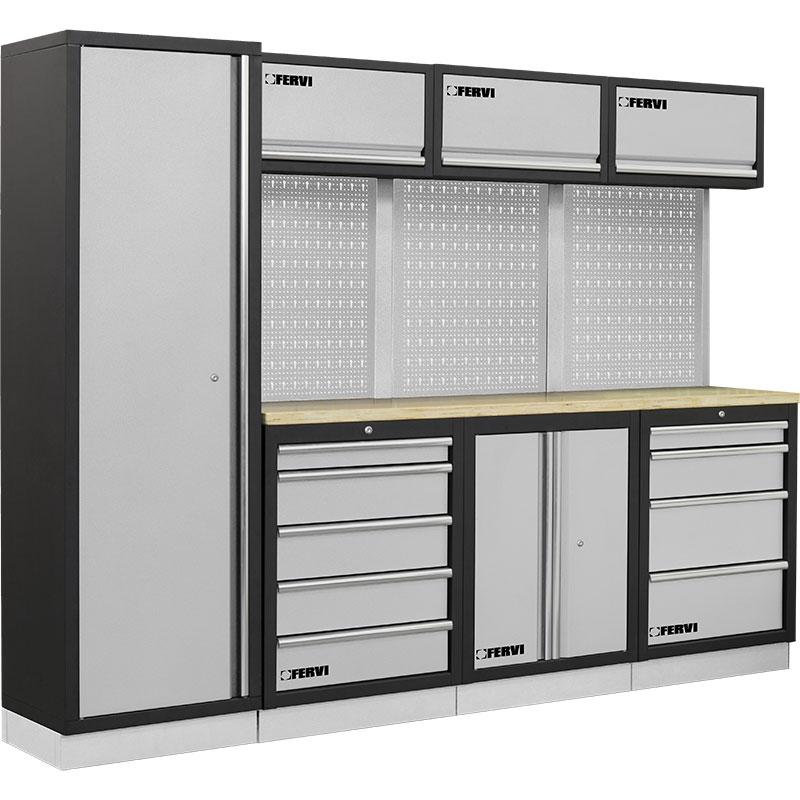 Fervi a007d arredamento modulare officine tecnopuglia for Arredamento officina meccanica